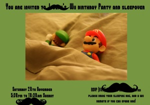 sleepover invitation1 incognito
